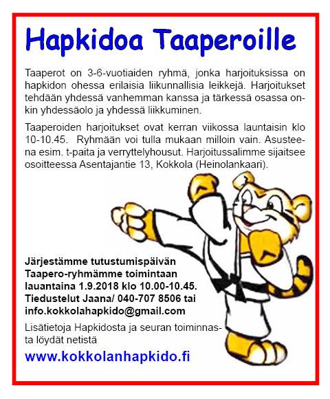 Taaperot-ryhmän tutustumispäivä @ Harjoitussali | Kokkola | Suomi